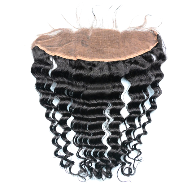 Brazilian Curly - Swiss Lace Frontal - Lace Frontals - VIP Luxury Hair