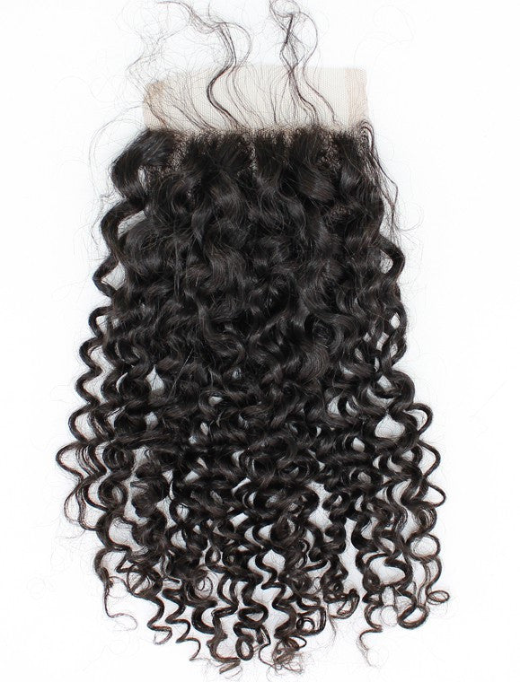 Brazilian Curly - Swiss Lace Closure - Lace Closures - VIP Luxury Hair