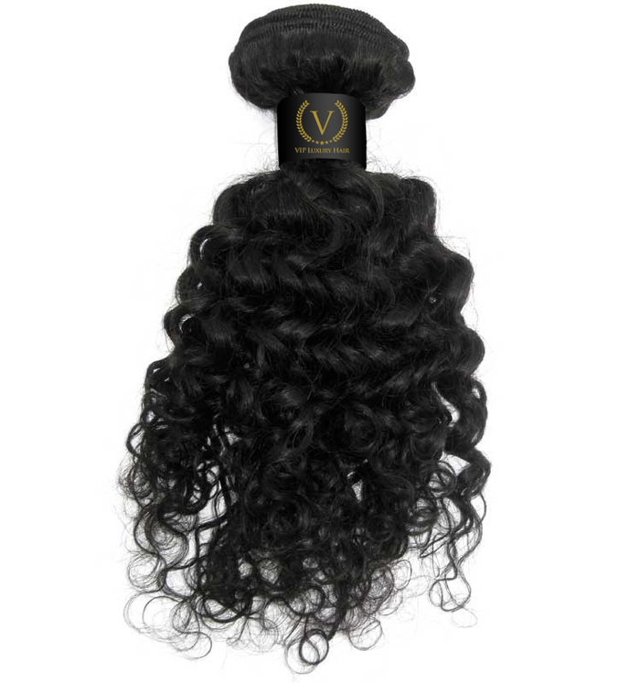 Brazilian Beach Curl - Single Wefts - VIP Luxury Hair - 1