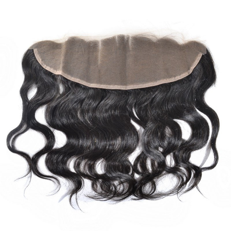 Peruvian Natural Wave - Swiss Lace Frontal
