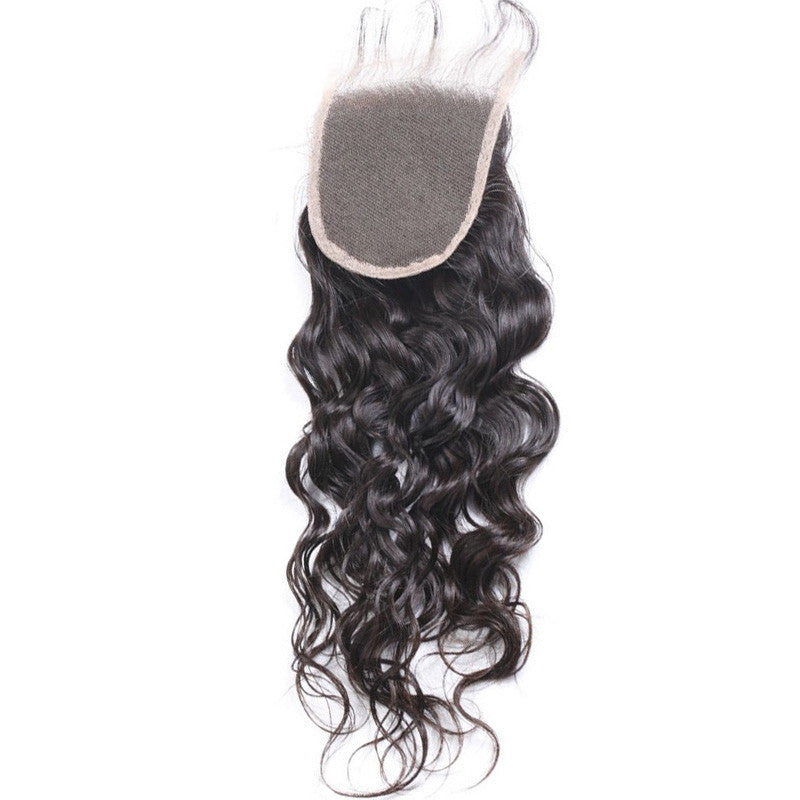 Peruvian Natural Wave - Swiss Lace Closure