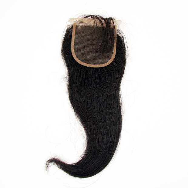 Peruvian Straight - Swiss Lace Closure