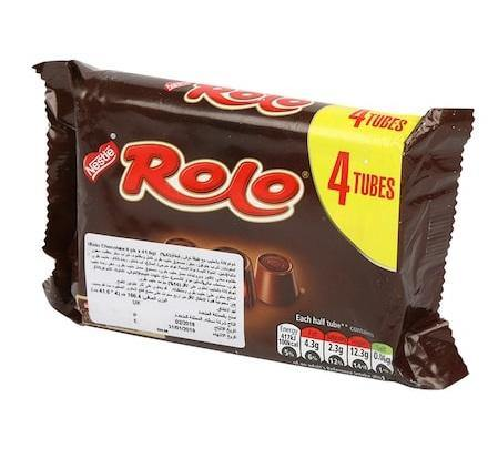Nestle Rolo 4 Tubes166.4g - 4you Chocolates