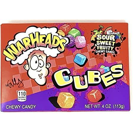 Warheads Chewy Candy Cubes 113g (New) - 4you Chocolates