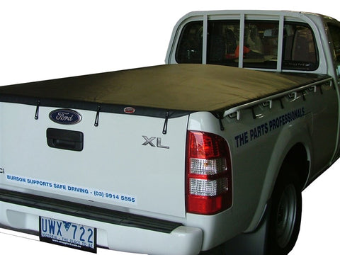 Tonneau Cover Ford Ranger XL Single Cab 2007 to Oct 2011 Without Sports Bars & With Headboard Bunji