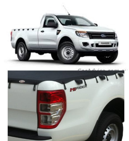 Ford PX Ranger Single Cab Nov 2011 to May 2013 Suits Headboard Bunji Ute Tonneau Cover