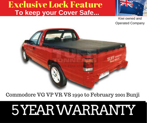 Holden Commodore VN VP VR VS 1990 to February 2001 Bunji Ute Tonneau Cover