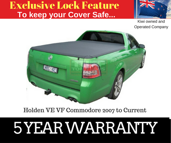 Holden VE VF Commodore 2007 to Current Clip On Ute Tonneau Cover