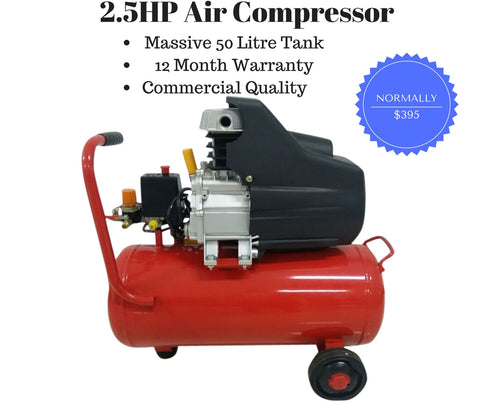 Air Compressor 2.5HP 50 L Direct Drive