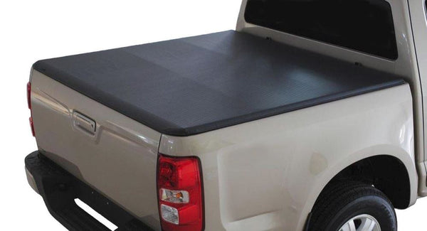 Ford Ranger Double Cab Tri Fold Tonneau Cover (No Drilling)