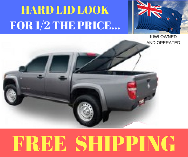 EZ Top Ute Cover Ford Courier Dual Cab 1999 to 2006