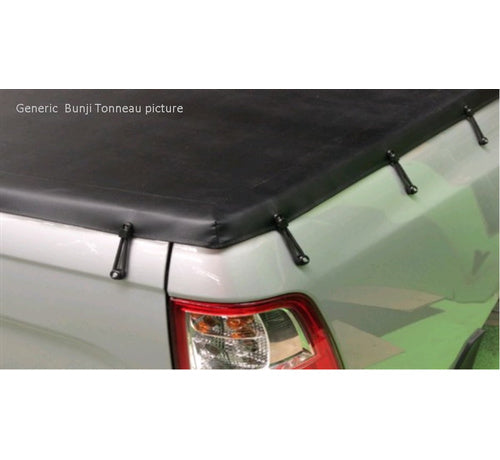 Mazda BT50 DX Dual Cab 2007 to Oct 2011  Tonneau Cover