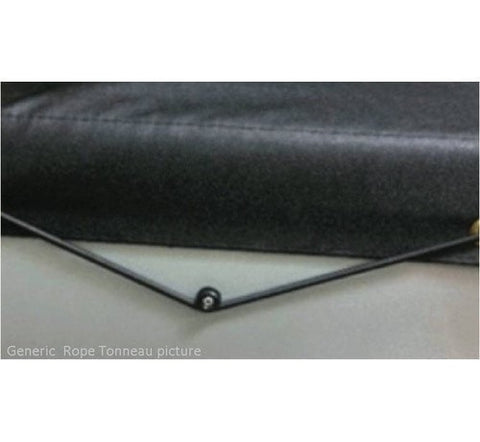 Toyota Hilux 1983 to 1988 Single Cab Rope Tonneau Cover