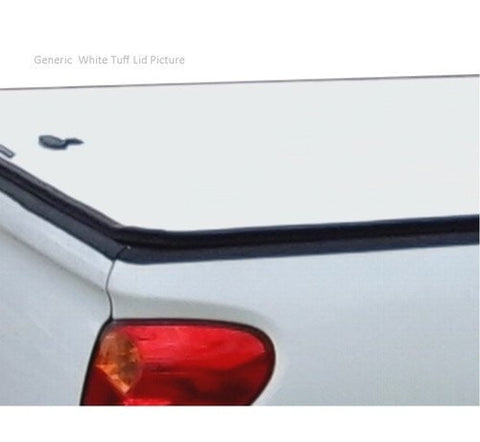 Toyota Hilux Extra Cab 1998 to Mar 2005 White Tuff Ute Hard Lid