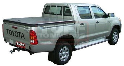 Toyota Hilux Dual Cab J Deck Aug 2005 to Sep 2015 Black Tuff Ute Hard Lid