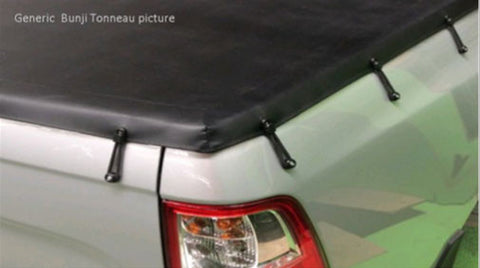 Toyota Hilux Dual Cab Oct 2015 to Current J Deck Bunji Tonneau Cover
