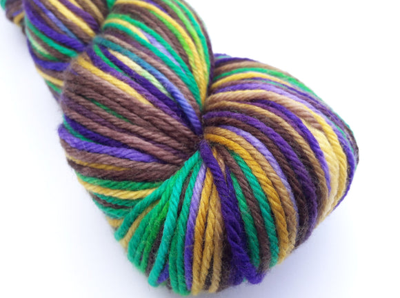 70s Child hand dyed 100% merino DK weight yarn