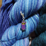 EXCLUSIVE Ollie the Owl About Yarn Owl progress keeper/stitch marker