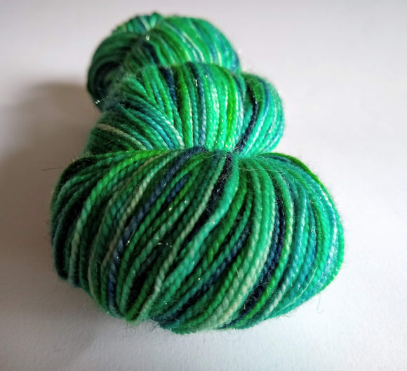 Greenhouse sparkle merino nylon fingering/4ply/sock yarn