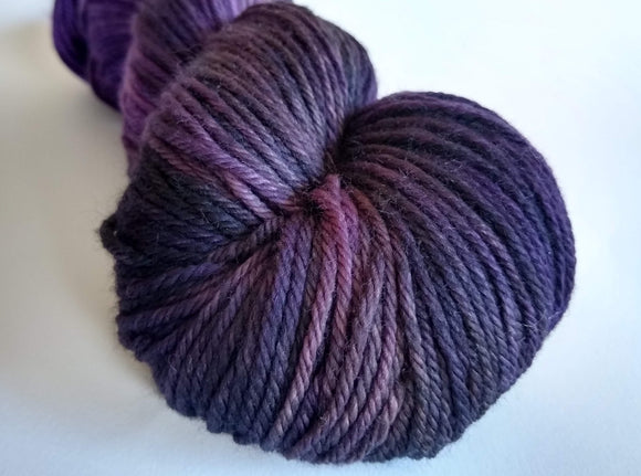 Dowager Duchess hand dyed 100% merino DK weight yarn
