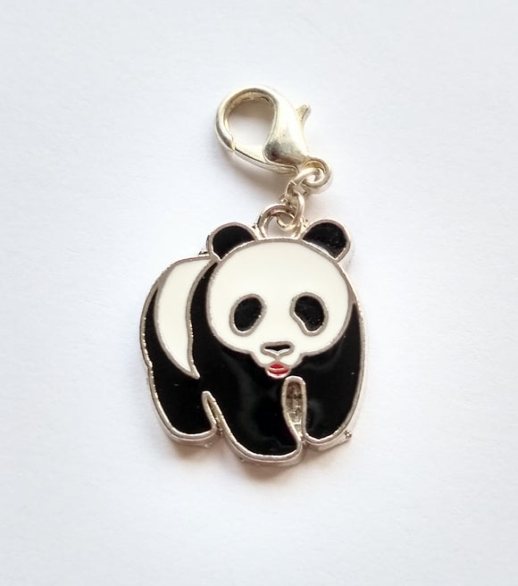 Panda progress keeper/stitch marker