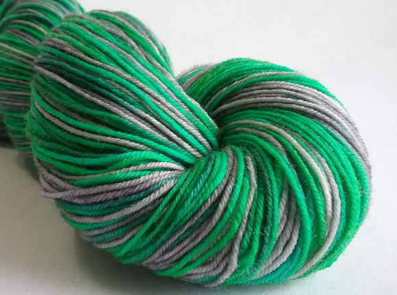 Slyther On hand dyed merino nylon fingering/4ply/sock yarn