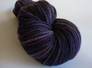 Villain hand dyed 100% merino DK weight yarn