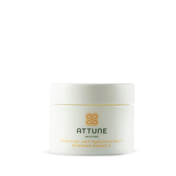 Attune Skincare - Moisturizer with Hyaluronic Acid & Stabilized Vitamin C 50ml
