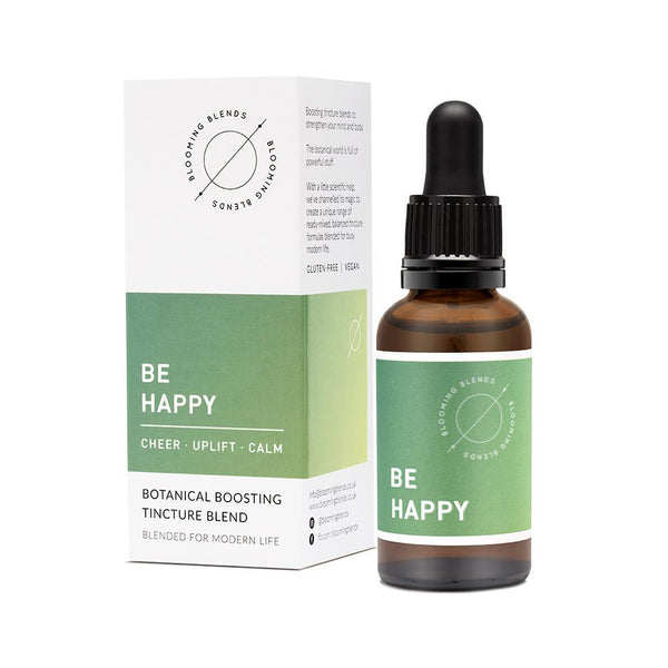 Blooming Blends - BE HAPPY HERBAL TINCTURE