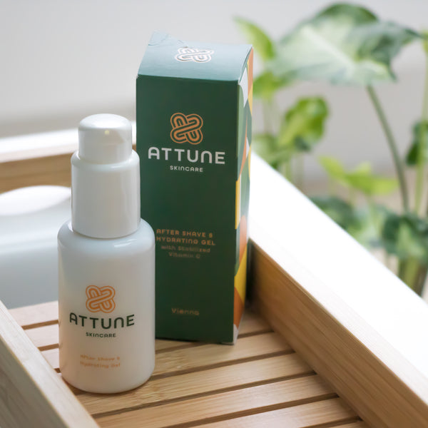 Attune Skincare - After Shave & Hydrating Gel with Stabilized Vitamin C 50ml