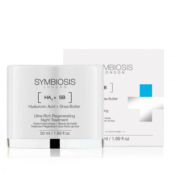 SYMBIOSIS - [Hyaluronic Acid + Shea butter] - Ultra-Rich Regenerating Night Treatment