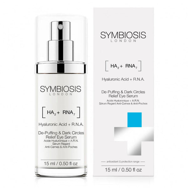 SYMBIOSIS - [Hyaluronic Acid + R.N.A.] - De-puffing & Dark Circles Relief Eye Serum