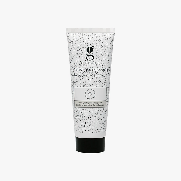 Grums Aarhus - raw espresso face scrub + mask 80ml