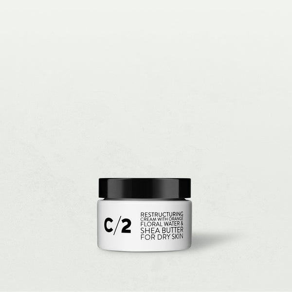 Cosmydor - C/2 RESTRUCTURING CREAM WITH ORANGE FLORAL WATER & SHEA BUTTER - FOR DRY SKIN