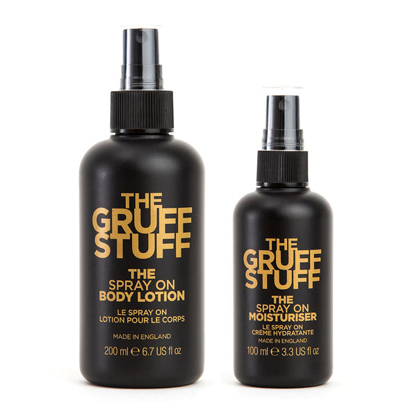 THE GRUFF STUFF - THE FACE & BODY SET