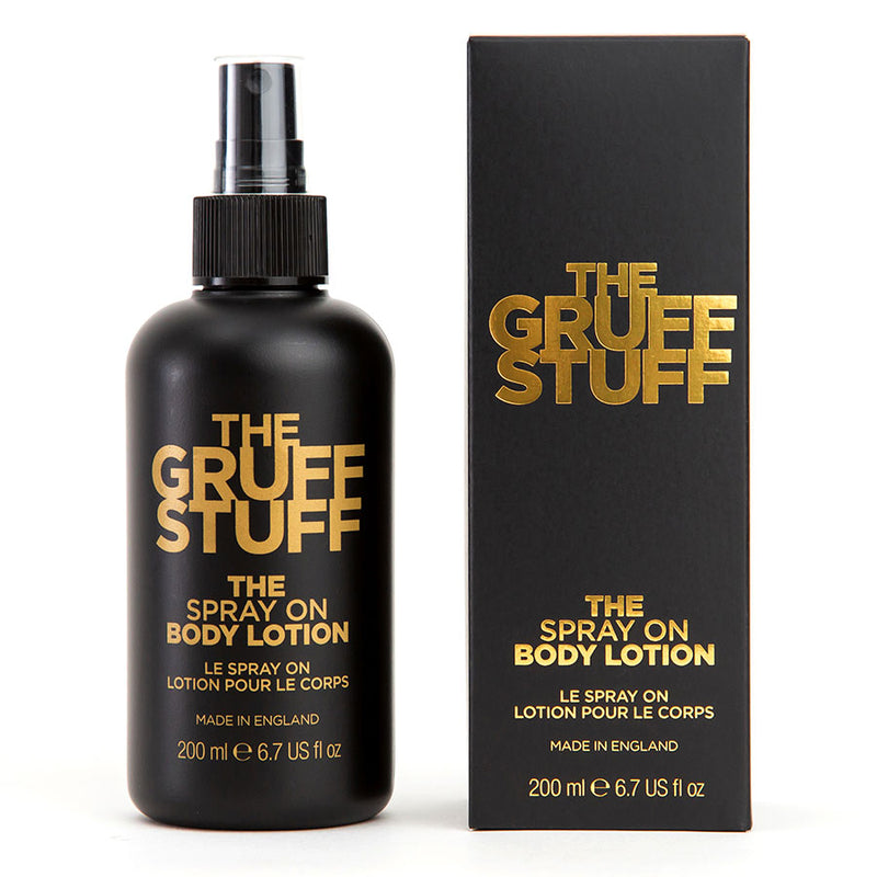 The GRUFF STUFF - THE SPRAY ON BODY LOTION