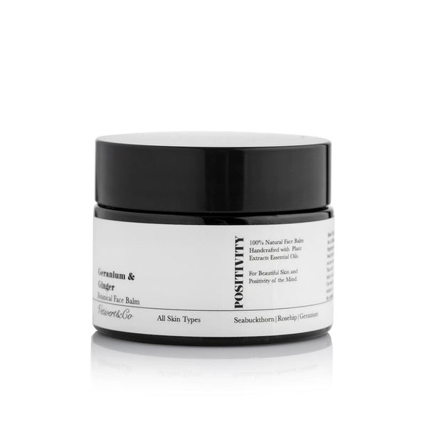 VETIVERT&CO - GERANIUM & GINGER BOTANICAL FACE BALM