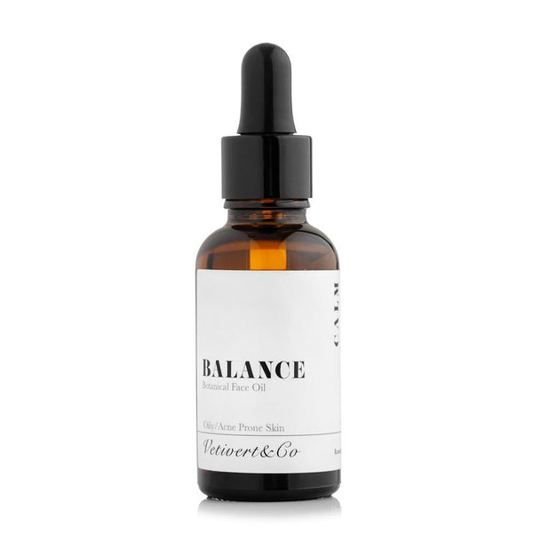 VETIVERT&CO - BALANCE BOTANICAL FACE OIL