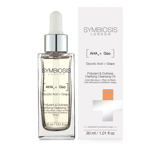 [Glycolic Acid + Grape Seed] - Pollutant & Dullness Clarifying Cleansing Oil