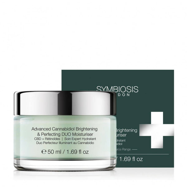 SYMBIOSIS - [CBD + Retinoids] - Advanced Cannabidiol Brightening & Perfecting DUO Moisturiser