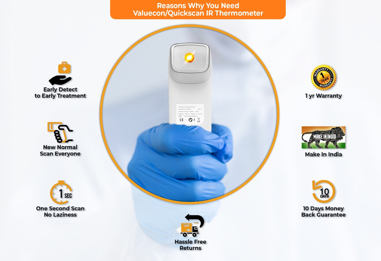Infrared Thermometer features