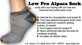 Survival Sock, Low Profile