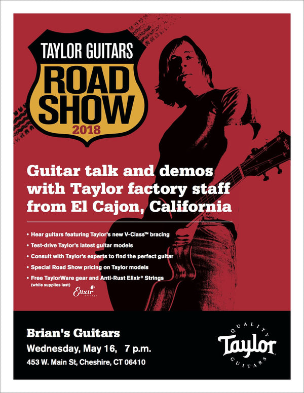 Taylor Road Show At Brian's Guitars!-Brian's Guitars