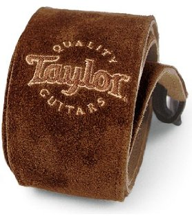 Taylor Guitars Chocolate Suede Strap-Accessories-Brian's Guitars