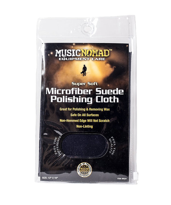 Music Nomad Microfiber Suede Polishing Cloth-Accessories-Brian's Guitars