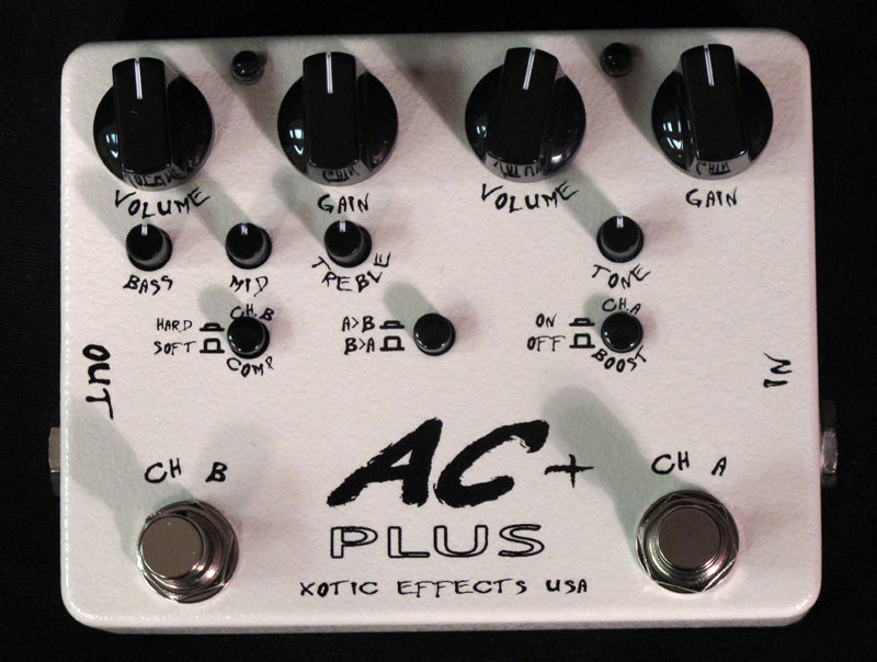 Xotic AC Plus Overdrive-Effects Pedals-Brian's Guitars
