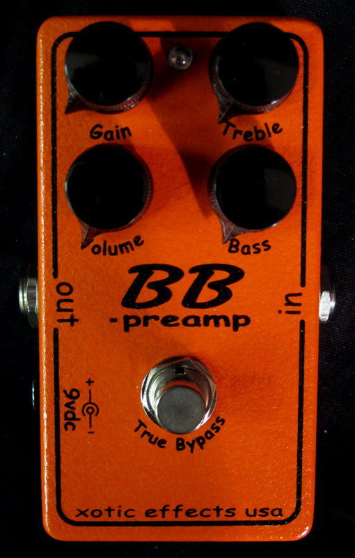 Xotic BB Preamp Overdrive-Effects Pedals-Brian's Guitars
