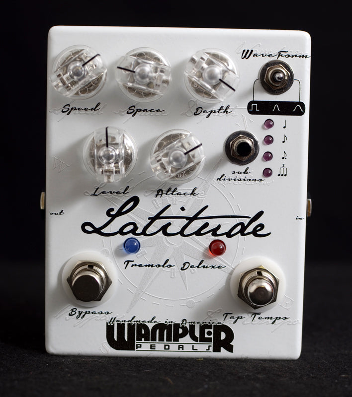 Wampler Latitude Tremolo Deluxe-Effects Pedals-Brian's Guitars