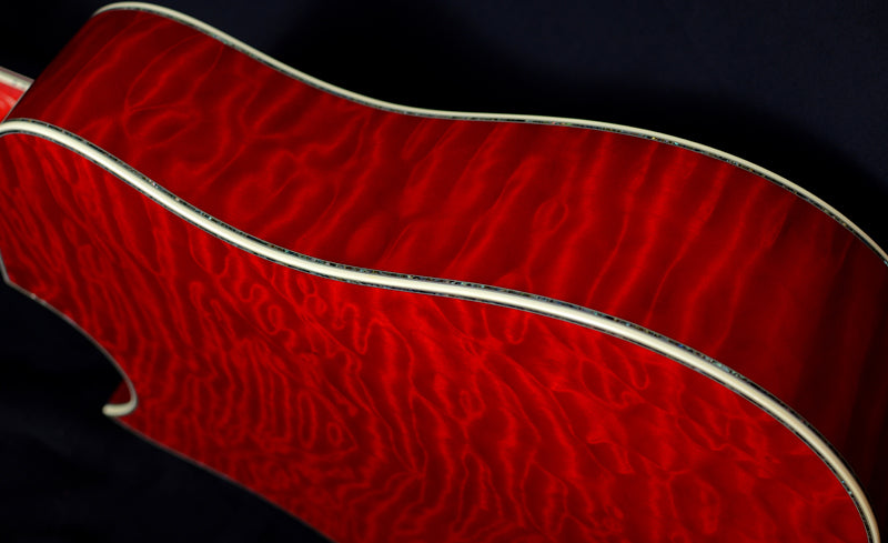 Used Taylor Presentation PS-LTD Quilt Maple Ruby Red-Brian's Guitars