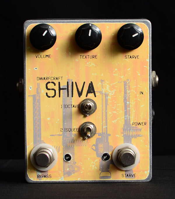 Used Dwarfcraft Shiva Fuzz-Effects Pedals-Brian's Guitars